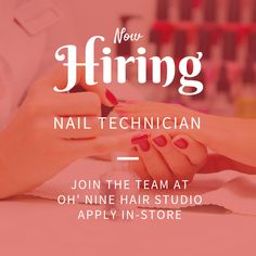 Are You An Experienced Nail Tech Looking To Join A Fun Team Stop By The