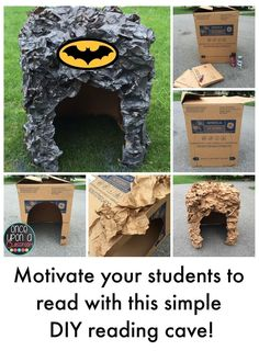 Once Upon A Classroom: The Bat Cave!