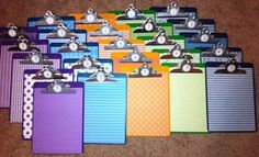 Middle School Frenzy: classroom management. This is a great way to call on a group by clipboard color for when a teacher has many different classes.