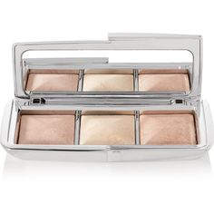 Hourglass Ambient Metallic Strobe Lighting Palette (320 RON) ❤ liked on Polyvore featuring beauty products, makeup, face makeup, metallic, brightening makeup, hourglass cosmetics and palette makeup
