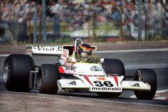 1978 Jarama ,Madrid. McLaren M23 - Ford.                                                       EMILIO DE VILLOTA.