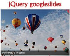 jQuery googleslides – jQuery Plugin to Display Google Photos  #jQuery #google #picasa #googleplus #photo #album #wordpress