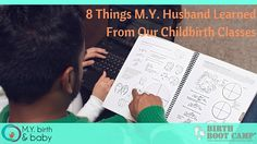 8 Things My Husband Learned From Our Childbirth Classes - great post from +Maryellen Yates at +MY Birth & Baby, LLC ! #fatherhood #dadsatbirth #birthclass #lafayettebirthclass #lafayettedoula #doula