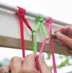 DIY | Maak zelf dit vrolijke vliegengordijn - Wonen&Co