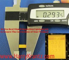 At www.HarryKrantz.com We Use Best Visual Inspection Equipments to Ensure The Correctness of Your Products