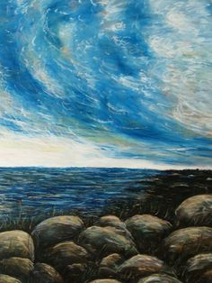 """Lake Huron Sky"" 2009"