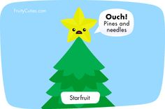Kawaii Cartoon Star fruit joke - Fruity Cuties   Flickr - Photo ...