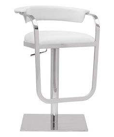 This White Barb Barstool is perfect! #zulilyfinds