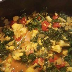 recipe: aloo matar paneer (simmered potatoes with peas and paneer) [31]