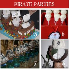 having a Pirate Party for the boys' birthdays this year - this site has so many cute ideas! Pokemon Birthday, Pirate Birthday, Pirate Party, Boy Birthday, Birthday Ideas, Guys Birthday Parties, Homemade Pirate Costumes, Party Planning, Party Time