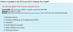 Top 5 Tax Credits for 2014 You Won't Want to Miss: http://taxcreditsfor2014.wordpress.com/2014/01/02/top-5-tax-credits-for-2014-you-wont-want-to-miss/