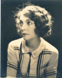Silent film actress, Zasu Pitts.
