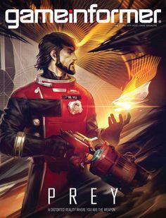 January Cover Revealed – Prey - News - www.GameInformer.com
