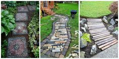 Resultado de imagem para garden path ideas