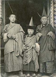 Mongolia, 1920s. The Communists totally ruined the country...