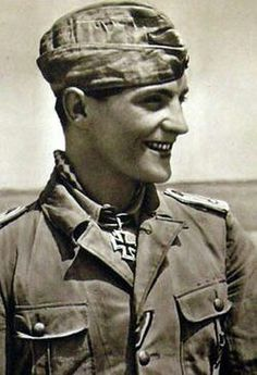 """Hans Joachim Marseille, a  German who called """"The Star of Africa"""""""