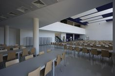 University Canteen and Restaurant,© Luis Ferreira Alves