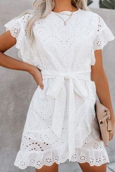 Casual Dresses, Fashion Dresses, Summer Dresses, Fashion Shirts, Dresses Dresses, Mini Dresses, Vestidos Color Coral, Mode Instagram, Pulled Back Hairstyles