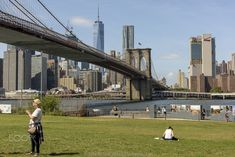 New York City by mbesserj #ErnstStrasser #USA Brooklyn Bridge, New York City, Usa, Travel, Viajes, New York, Trips, Nyc, Tourism