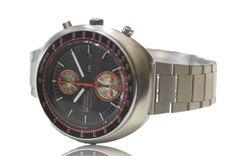 Metallherrenuhrarmband, Seko, Sports Speed Timer, Ref. Nr. 6136-0011, Serien Nr. 626238, mechanisches Werk – Handaufzug, Gehäuse und Uhrband aus Edelstahl, Uhr (70er Jahre) ist komplett restauriert und reversiert, Orig. Etui  Rufpreis € 400,- (zzgl. 20 % Erstehergebühr zum Meistbot)  Informationen bei Famous Juweliere - Anichstraße 0512 / 58 39 40 oder per Email anich@famous-juweliere.at