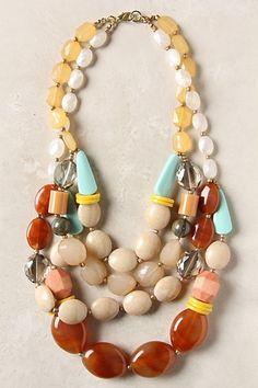 Kulfi Strands Necklace #anthropologie by Ashleighn