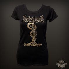 """Behemoth """"I Believe In Satan"""" girlie t-shirt Behemoth Webstore"""