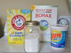 Homemade cloth diaper friendly laundry detergent :)