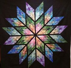 Prismatic Star, Quiltworx.com, Made by CI Janet McNamara Houck