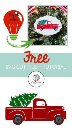 This free Christmas Tree Truck SVG cut file is compatible with the Cricut, Silho… – DIY Crafts Christmas Vinyl, Christmas Truck, Christmas Crafts, Thanksgiving Crafts, Christmas Shirts, Winter Christmas, Wine Bottle Crafts, Mason Jar Crafts, Mason Jar Diy