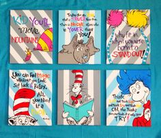 High Quality Seuss Inspired Wall Art (Winter Gray U0026 Sky Blue Background) Cat Pictures Art  U201d Seuss Quotes For All Kinds :) To Celebrate The Release Of What Pet Should  I ...