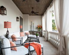 Veranda Design: 18 Photos of Decorating Ideas