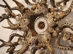 Laurie Hassold - Radial Birth (Detail) 2008