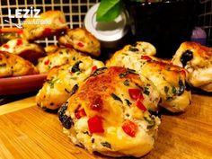 Pizza Tadında Sebzeli Poğaça Pizza, Turkish Recipes, Food And Drink, Cooking Recipes, Chicken, Yogurt, Essen, Cooker Recipes, Turkish Food Recipes