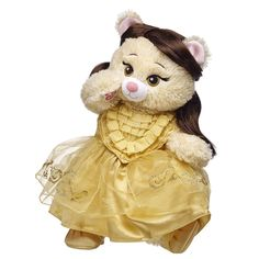 Build-a-Bear | Exclusive | Disney | Beauty and the Beast Collection | Belle | Bear with Accessories
