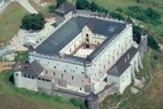 Zvolen Castle --- Address: Námestie SNP 1, 960 01 Zvolen, Slovakia Mountain Landscape, Mansions, Architecture, House Styles, Castles, Palace, Landscapes, Collection, Historia