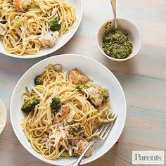 Stupid Easy Chicken and Broccoli Pasta