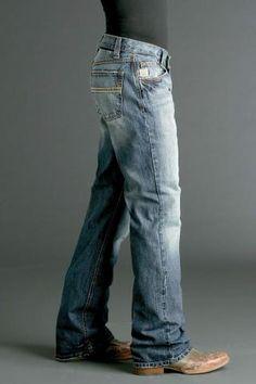 Men's Indigo Cinch Carter Jeans Western Clothing