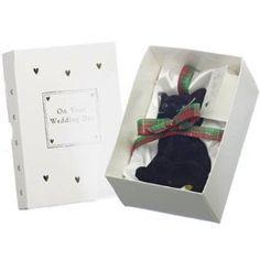 Scottish Lucky Black Cat Wedding Day Gift