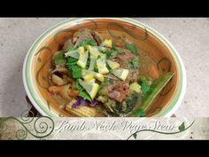 Lamb Neck Chop stew Pressure Cooker Recipe
