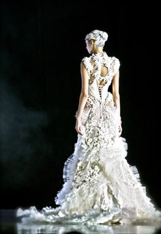 Tex Saverio Bridal Spring 2012.