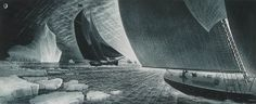 David Blackwood, Outward Bound for the Labrador, 1985 etching and aquatint on wove paper Stippling Art, Canada Images, Ship Art, Canadian Artists, Art Of Living, Newfoundland, Online Gallery, Prints For Sale, Great Artists
