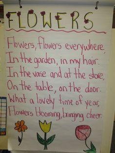 Flower poem: