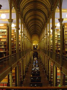 Copenhagen University Library, Denmark, is one of the 10 largest libraries in the world. #library #book_love Re-pinned by #Europass
