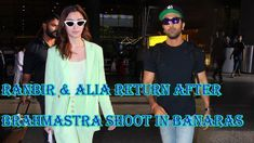 Ranbir & Alia Return After Brahmastra Shoot In Banaras.Ranbir Kapoor is an Indian actor and film producer. He is one of the highest-paid actors of Hindi cine. Top 10 News, Indian Hindi, Alia Bhatt, Ranbir Kapoor, Film Industry, Two By Two, Bollywood, Singer, Actresses