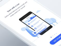 New onboarding designed by Sơn Min. Connect with them on Dribbble; Vietnam, Ios, Web Ui Design, Ui Inspiration, Mobile Design, Mobile Ui, User Interface, Iphone, Projects