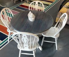 Gray Gel Stained Table Top | General Finishes Design Center