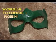 Worbla Tutorial : How to make a Superhero Mask (Robin)  - https://www.youtube.com/watch?v=RUb5yx2SN4w
