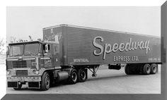 This company colors were Red/w. Heavy Duty Trucks, Big Rig Trucks, Heavy Truck, Dodge Trucks, Semi Trucks, Old Trucks, Truck Transport, White Truck, Custom Big Rigs