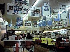 Sutton's Drug store in Chapel Hill.  TAR HEEL heaven!
