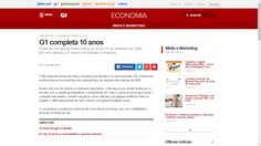 #G1 completa 10 anos  http://g1.globo.com/economia/midia-e-marketing/noticia/2016/09/g1-completa-10-anos.html  #Airbnb #AirbnbBrasil #Alugar #Aluguel #Beautiful #Brasil #Centro #Downtown #Happy #Hostel #HostelLife #InstaGood #Living #Love #Metro #Morar #PhotoOfTheDay #Quarto #Rent #Room #SaoPaulo #SaoPauloCity #Subway #WiFi